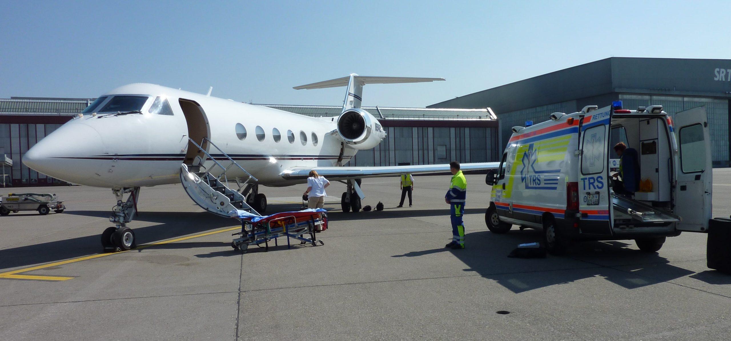 Évacuation médicale en jet privé Gulfstreal