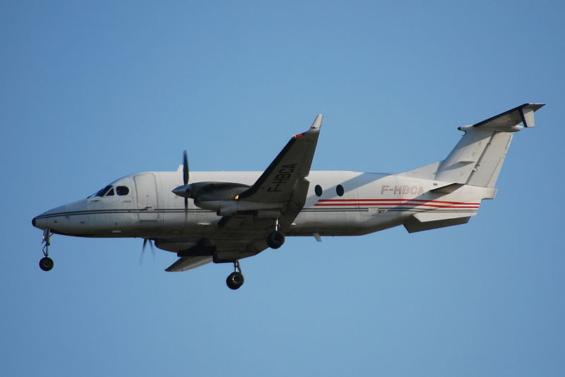 Beechcraft 1900D en vol