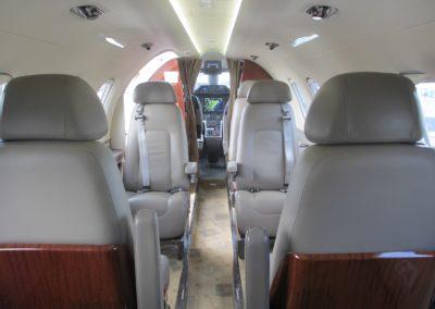 Embraer Phenom 100 cabine