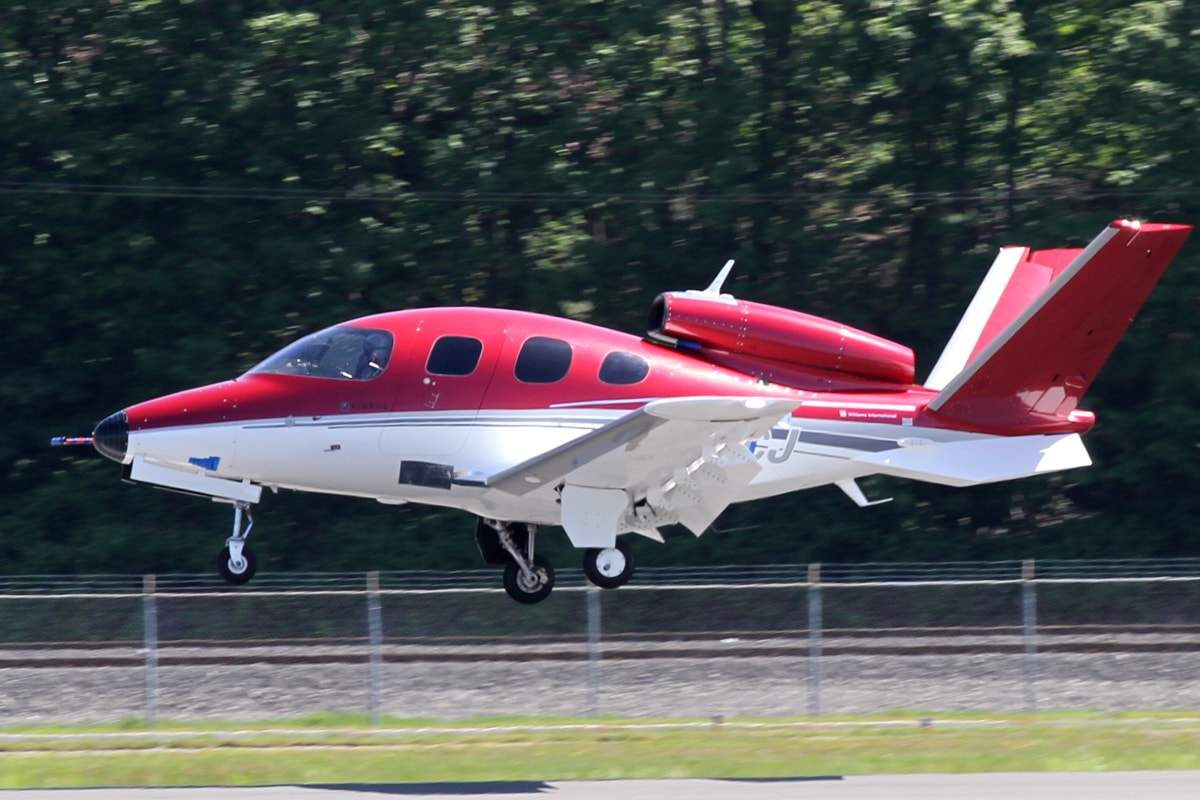 Location Cirrus SF50 Vision