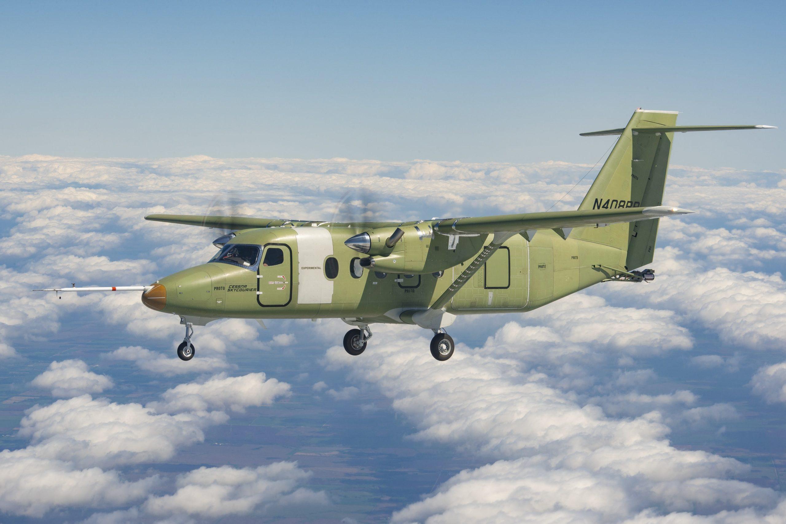 Le Cessna SkyCourier en vol