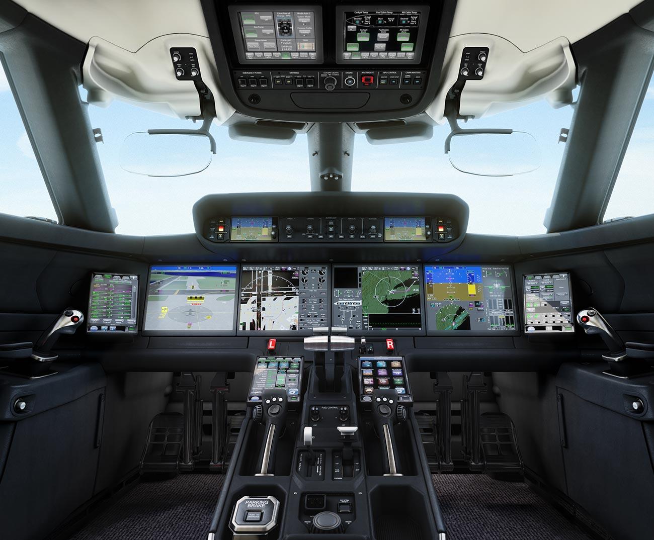 Cockpit du Gulfstream G700