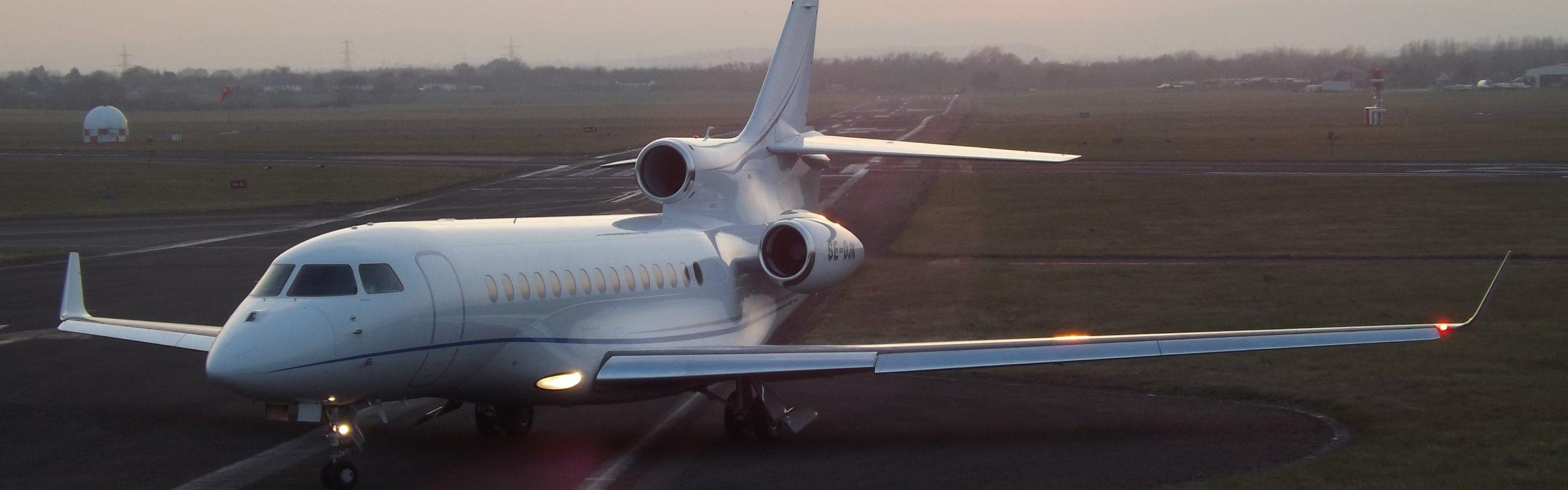Location d'un jet privé Dassault Falcon 7X