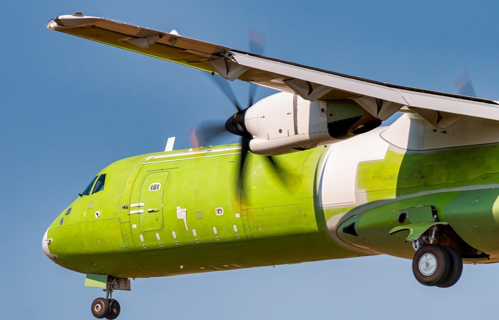Le premier vol de l'ATR 72-600F