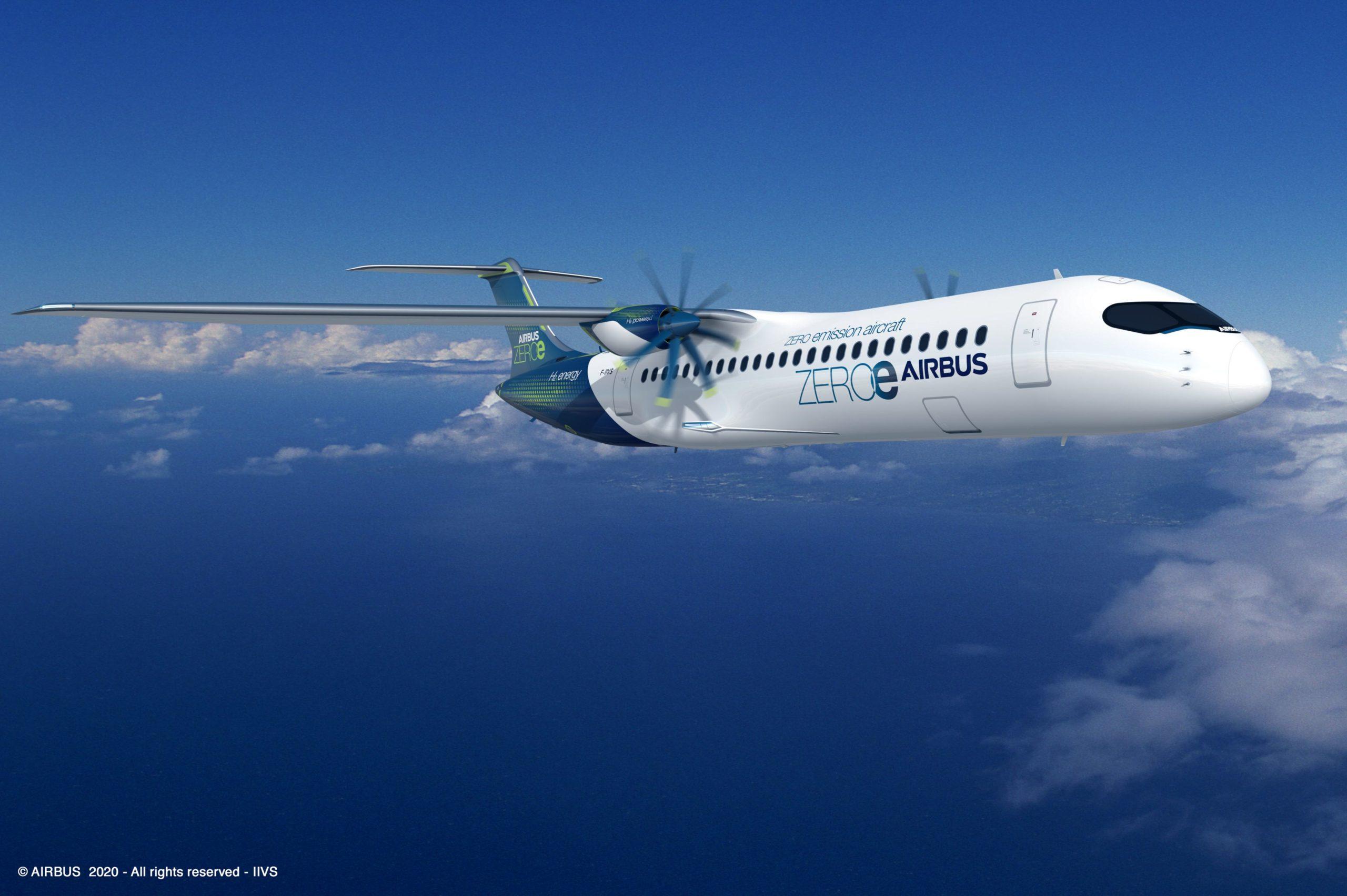 Airbus ZeroE turboprop