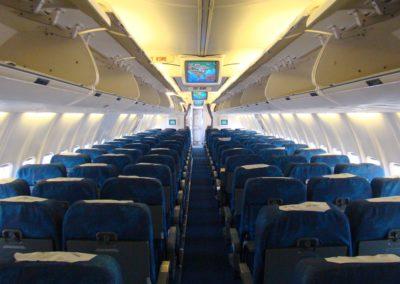 B737-300's cabin