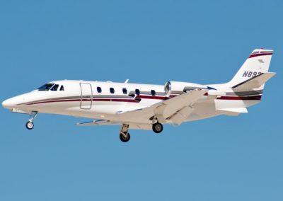Cessna Citation Excel XL in flight