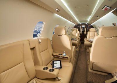 Intérieur du Cessna Citation XL