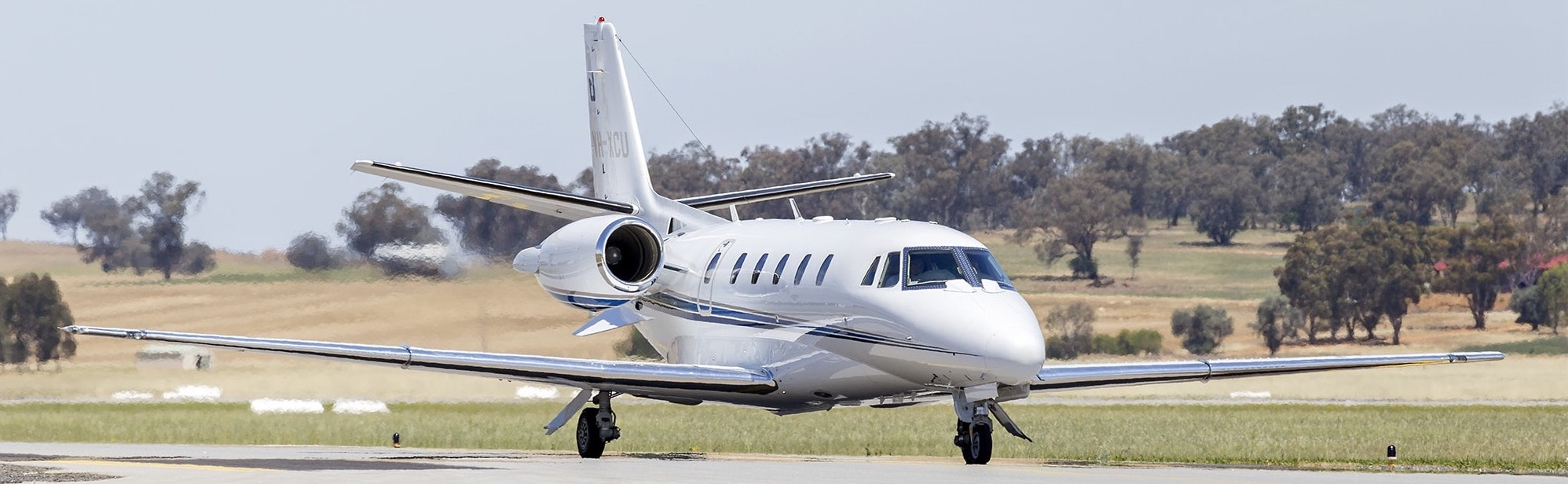 Cessna Citation Excel XL taxiing