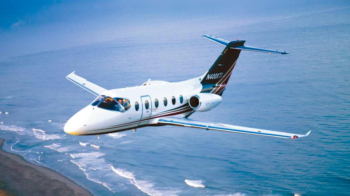 Le Nextant 400 XTi en vol