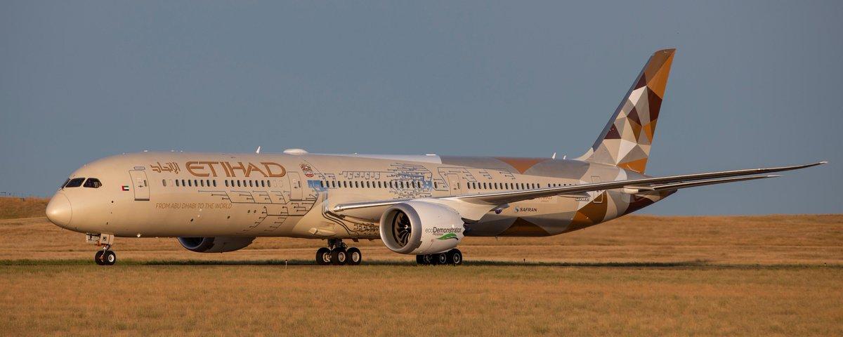 Le Boeing 787 ecodemonstrator de Boeing