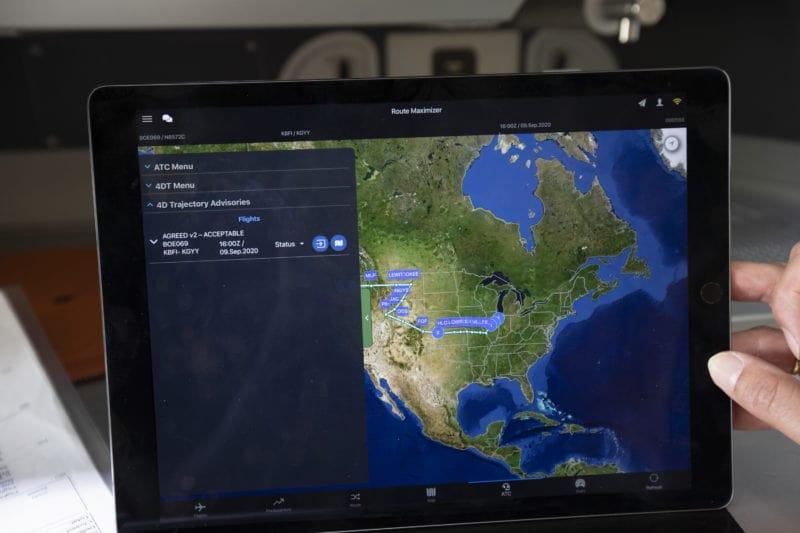 Le système d'optimisation des vols de la Nasa et de Boeing pour l'écodemonstrator