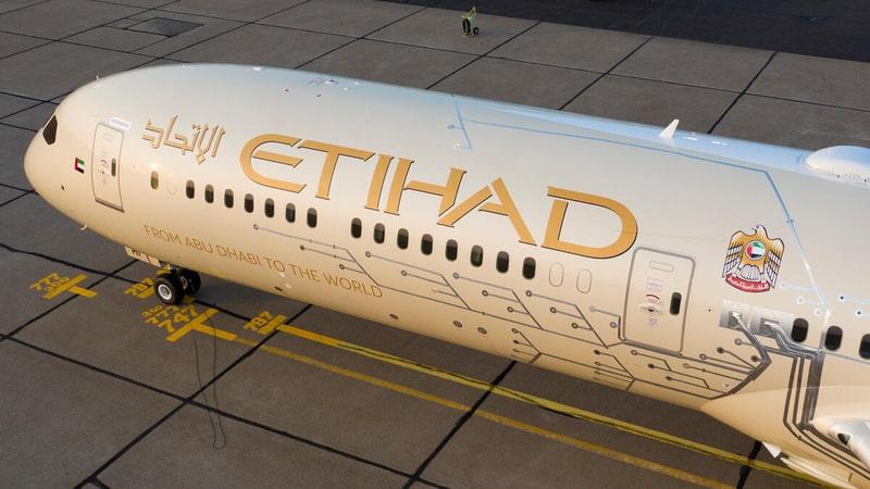 Les capteurs de son du 787 d'Etihad