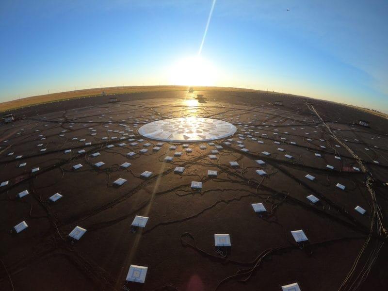 Les capteurs au sol pour l'ecodemonstrator de Boeing