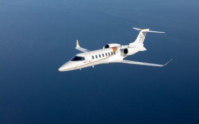 Bombardier's Learjet 75 Liberty Business Jet Enters Service