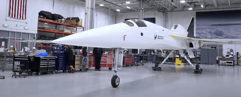 The Boom Supersonic XB1