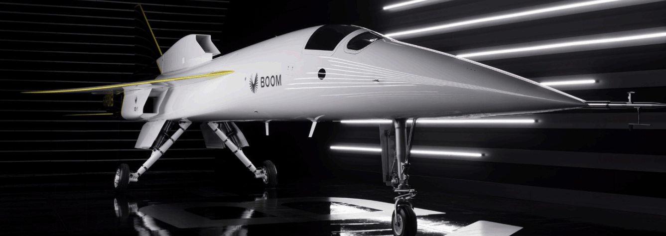 The Boom Supersonic XB-1 demonstrator