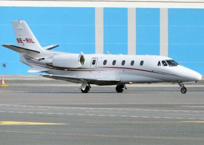 The Cessna Citation XLS on ground