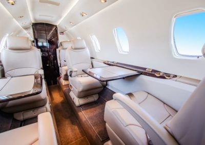 The interior of the Cessna Citation XLS