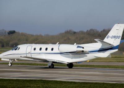 The Cessna Citation XLS taking-off