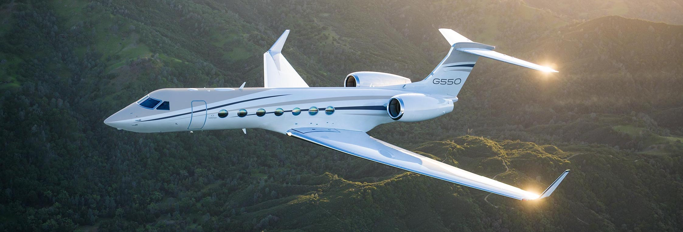 The luxurious Gulfstream G550