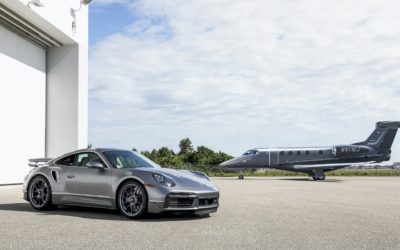 Porsche, Embraer Unveil Exclusive Pair of 911 Turbo and Phenom 300