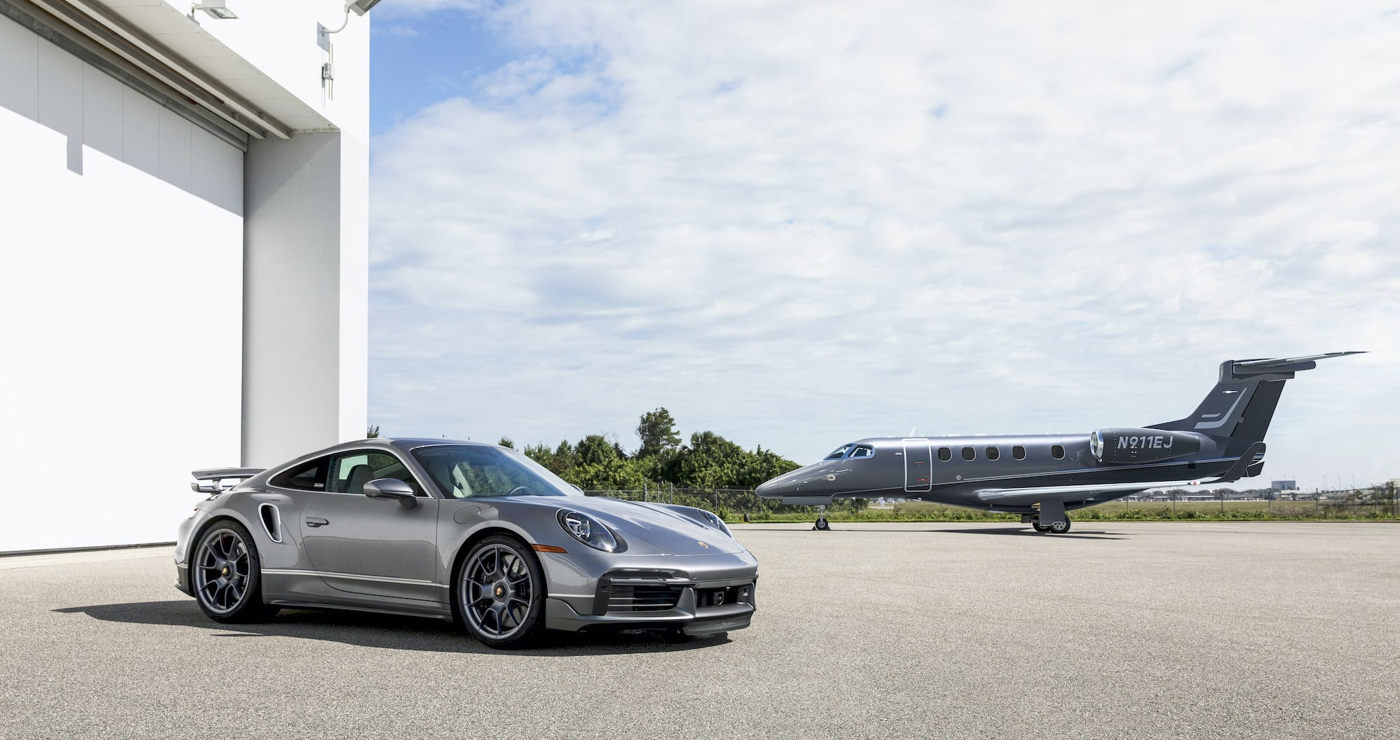 The Duet Porsche and Embraer
