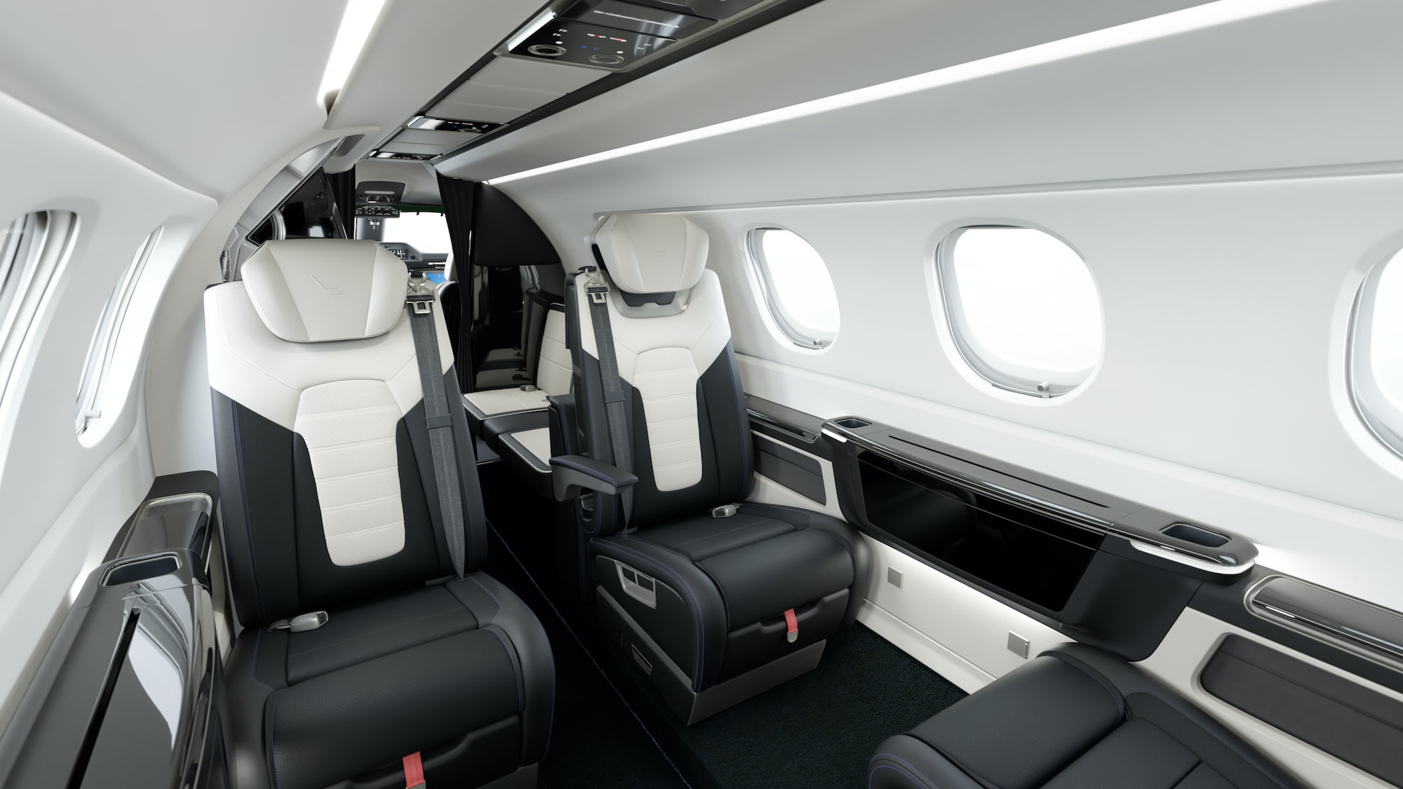 Interior of the Phenom 300E Interior