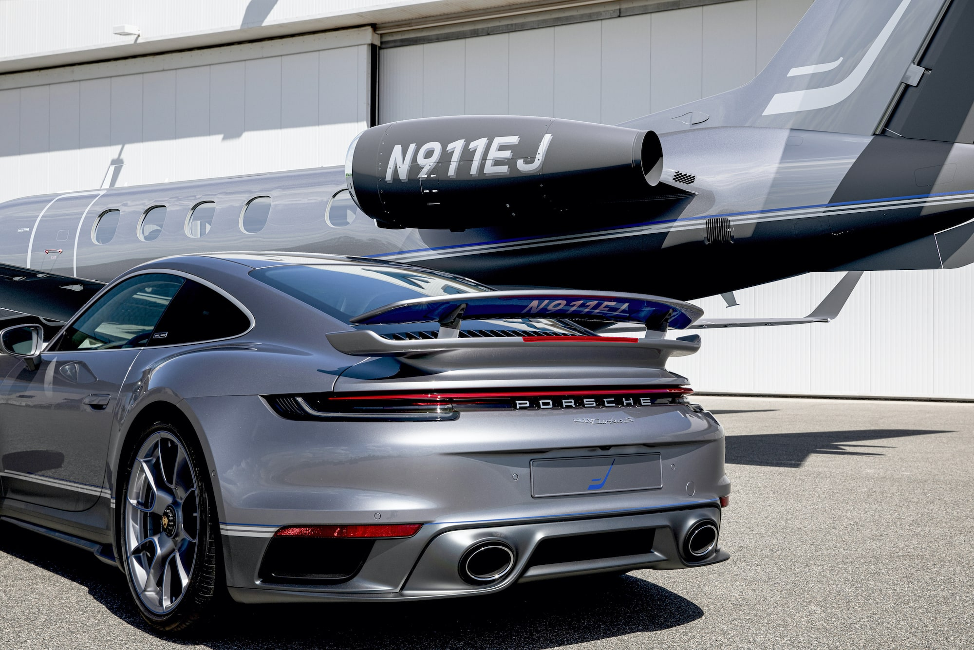 The Duet between Porsche and Embraer