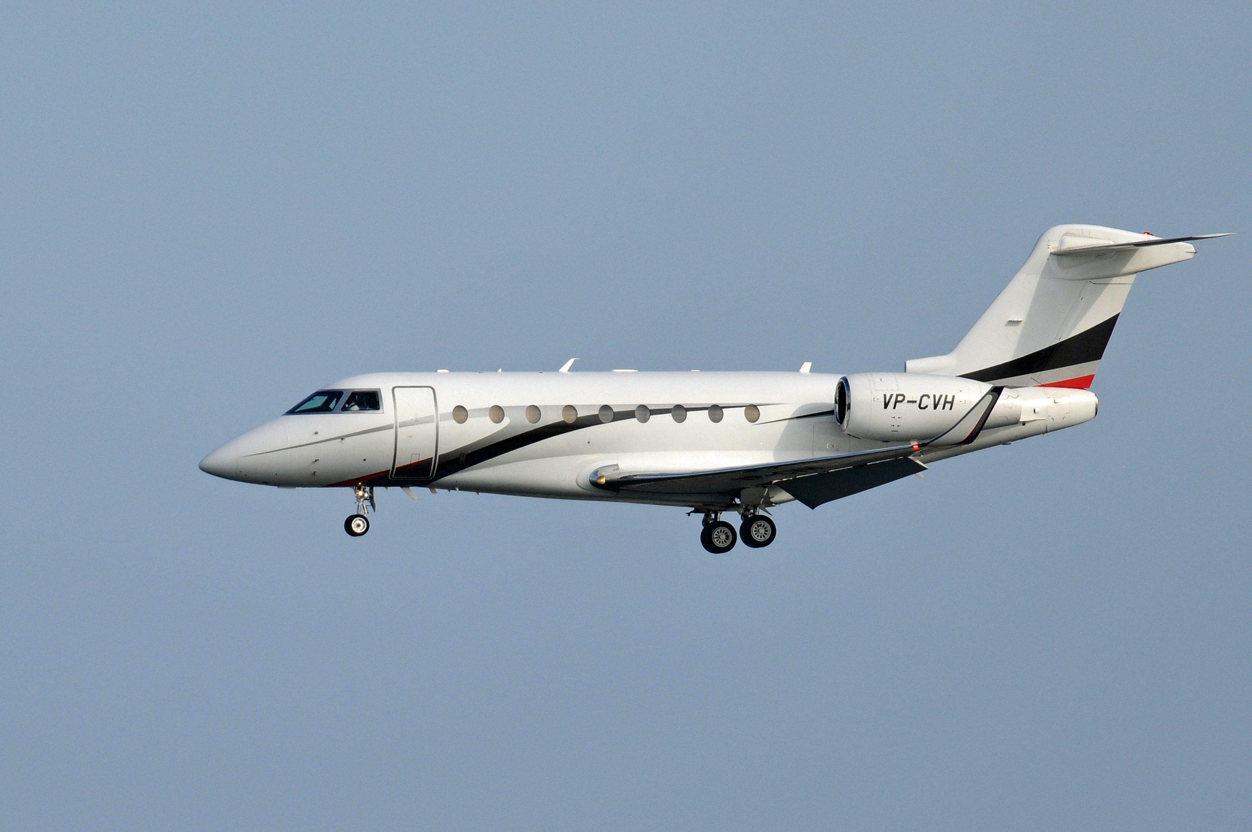 Gulfstream G280 Landing