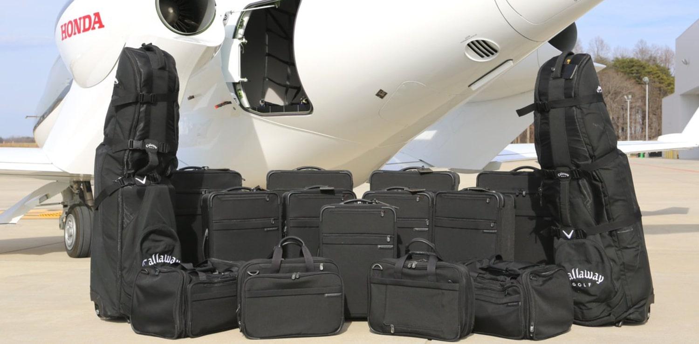 Luggage capacity of the HondaJet HA420