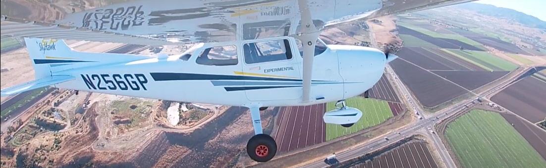 The Reliable Robotics' autonomous  Cessna C172 flying