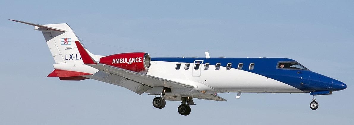 Avion air ambulance pour les rapatriements sanitaires