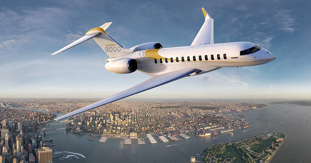 The Bombardier Global 8000
