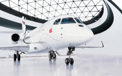 Dassault Aviation Unveils the Falcon 6X