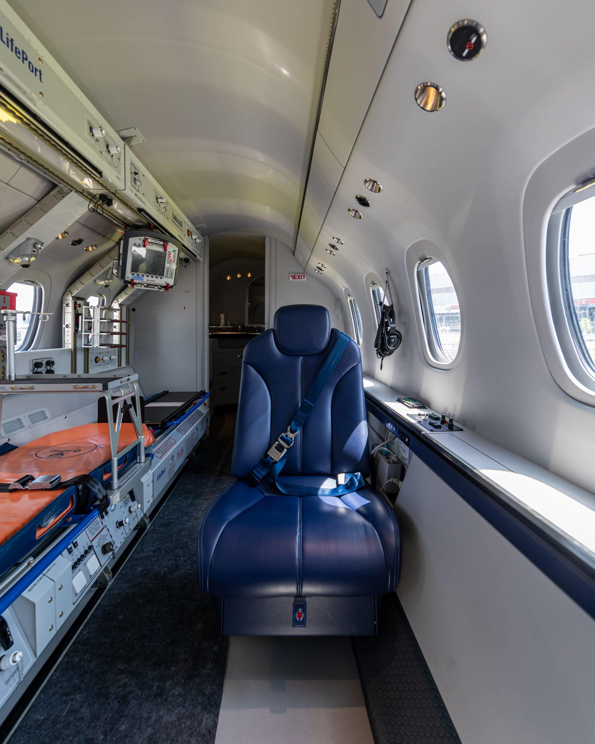 Air Ambulance for medical flight