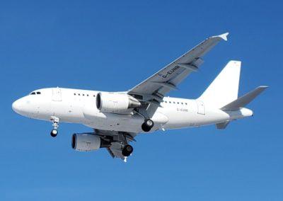 Charter an Airbus A318